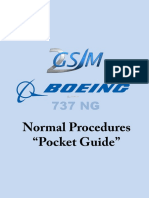 Pock t Guide Normal Proc 737 Ng