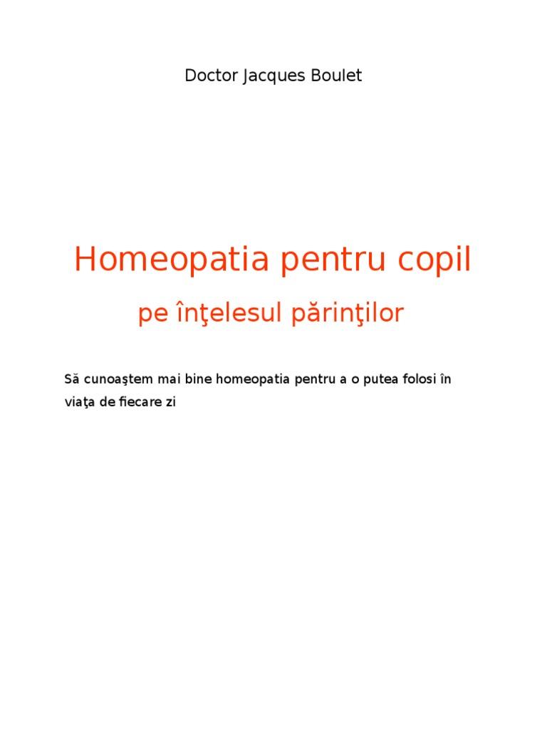 tratament comun cu remedii homeopate)