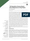 ROS Regulation During Abiotic Stress Responses in Crop Plants