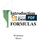 Computer Methods in Geology_excel2 Formulas