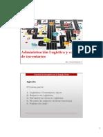 Función de la logística en la cadena de suministro.pdf