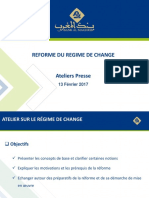 Reforme Du Regime de Change