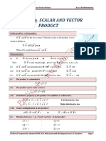 Chapter 2 Version 1 of Vector Analysis Written by Hameed Ullah