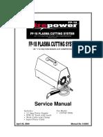 Manual Firepower Fp-18 (s)