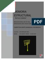 Memoria Estructural Rotulo COBIRSA2
