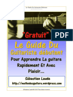 Guide Du Guitariste Debutant