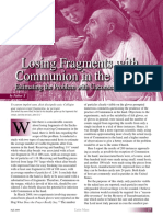 Losing Fragments With Communion in the Hand