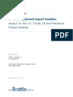 Brattle Group - Border Adjustment Import Taxation