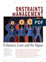 Constraint Management and Lean