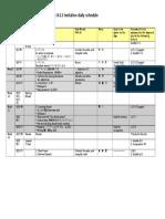 JPN1024Spring2017 Week8-12(Lesson7) DetailedDailySchedule