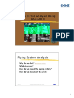 Intergraph - Piping stress Analysis using CAESAR-II.pdf