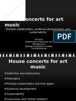 House concerts for art music by Anne Ku