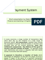 The Payment System