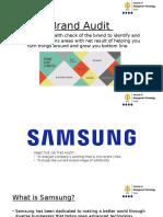 Samsung - Brand Audit