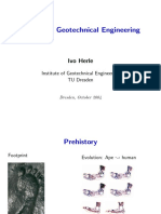 History of Geotechnics
