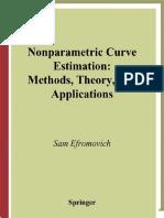 Non Parametric Curve Estimation