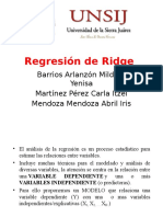 Regresion Ridge