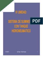 Tanque Hidroneumatico