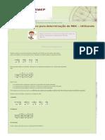 Algoritmo de Euclides Para Determinação de MDC – Utilizando Diagramas » Clubes de Matemática Da OBMEP