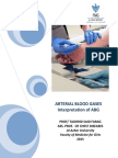 Arterial Blood Gases 2015