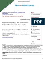 Regeneración Periodontal en La Practica Clínica