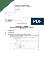 Sony BMG v. Tenenbaum - Memorandum and Order