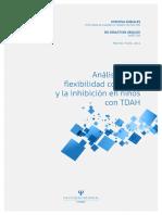 Análisis de La Flexibilidad Cognitiva y La Inhibición en Niños Con TDAH