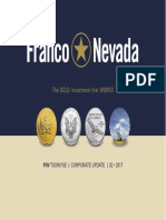Franco Nevada February 2017 -Presentation