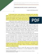 A Historiografia Brasileira Do Sec Xix