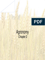 2 . Agronomy