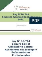 LEY N°16744