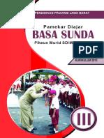 Buku Siswa Kelas 3 SD Bahasa Sunda