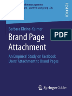 Brand Page Attachment_ an Empirical Study on Facebook Users' Attachment to Brand Pages