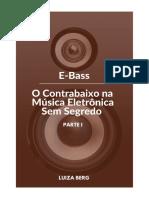 E-Book - E-Bass - O Contrabaixo na Música Eletronica Sem Segredo