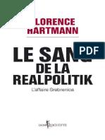 Florence Hartmann-Le Sang de La Realpolitik