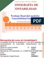 Monografía de Contabilidad General II