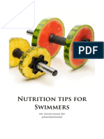 Swimming  Nutrition
