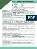 Plan 4to Grado - Bloque 3 Ciencias Naturales (2016-2017)