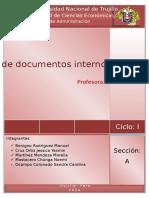 REDACCIÓN DE DOCUMENTOS EXTERNO E INTERNOS