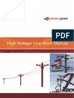 High Voltage Live Work Manual