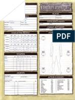 WFRP2 Fillable Character Sheet