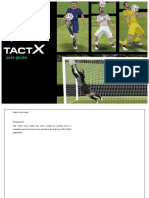TactX User Guide