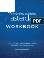 Bending Reality Masterclass by Vishen Lakhiani Workbook