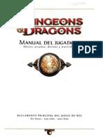 D&D 4ta edición. Manual de Jugador español 1