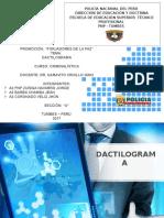 DACTILOGRAMA