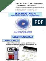 Electrostatica.- Distribucion Discontinua de Carga Electrica - Vac 2017