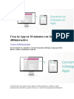 Manual Para Combertir en App Con Adobe Indesign