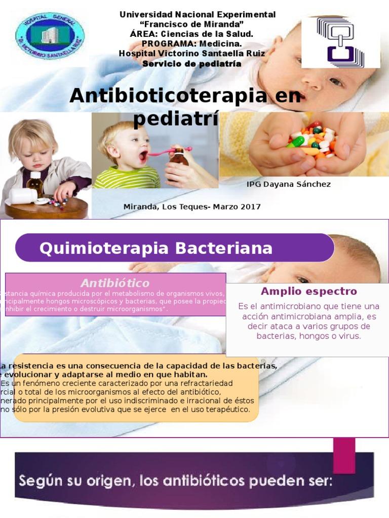 antibioticos en pediatria ppt