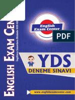 2017 -EnglishExamCenterYDSDenemeSinavi 1