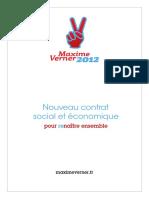 Nouveau contrat économique et social